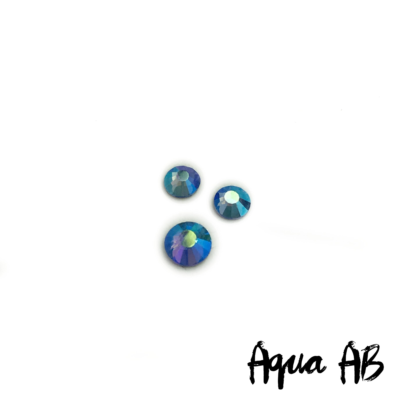 Aqua AB competition bikini crystal