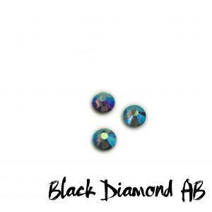 Black Diamond AB competition bikini crystal