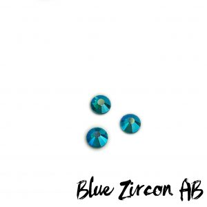 Blue Zircon AB competition bikini crystal