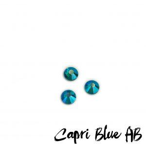 Capri Blue AB competition bikini crystal