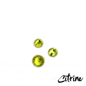 Citrine competition bikini crystal