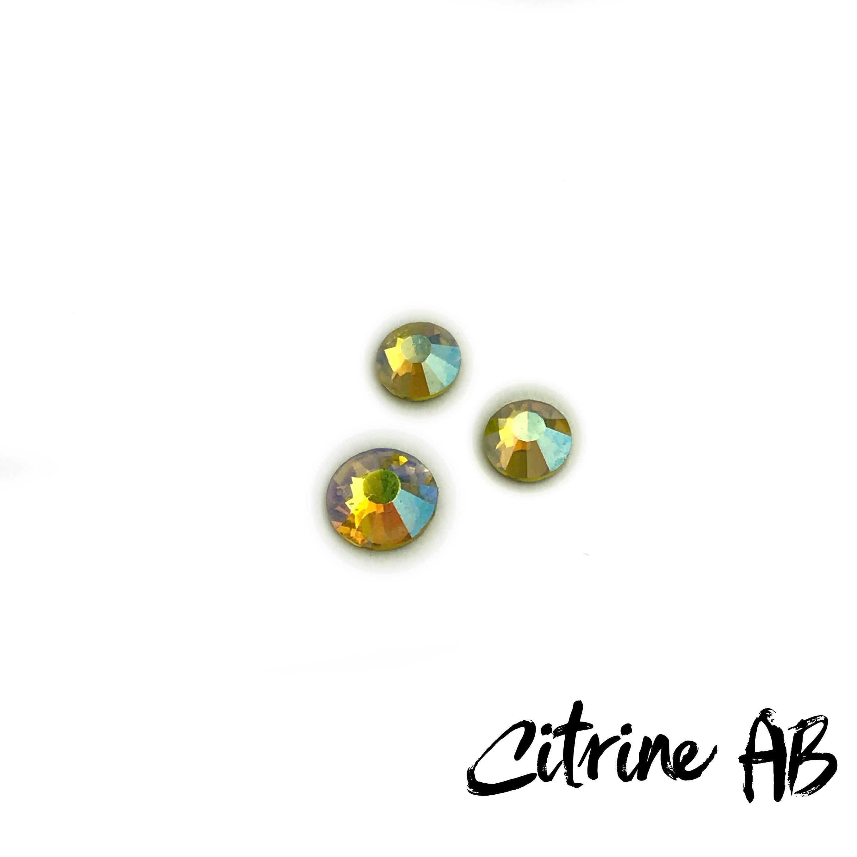 Citrine AB competition bikini crystal