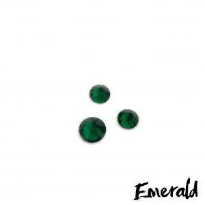 Emerald competition bikini crystal