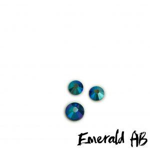 Emerald AB competition bikini crystal