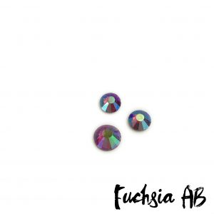 Fuchsia AB competition bikini crystal