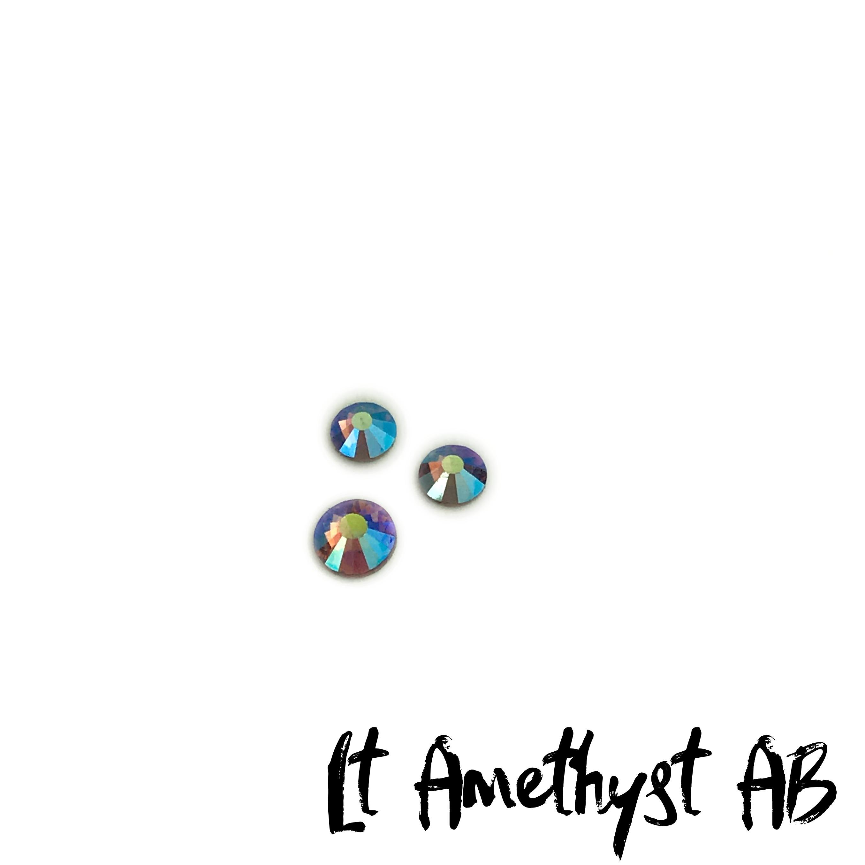 Lt Amethyst AB competition bikini crystal