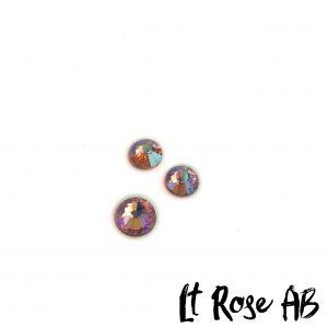 Lt Rose AB competition bikini crystal