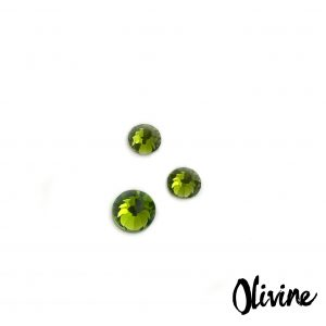 Olivine competition bikini crystal