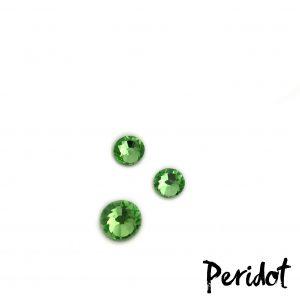Peridot competition bikini crystal