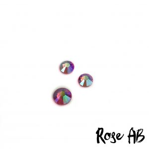 Rose AB competition bikini crystal