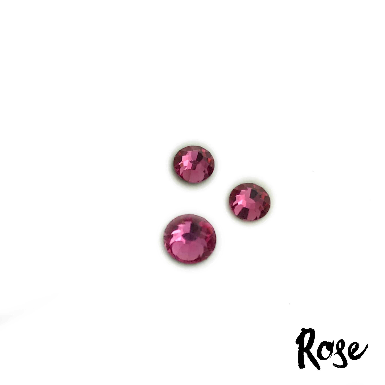 Rose competition bikini crystal