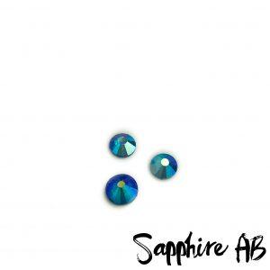 Sapphire AB competition bikini crystal