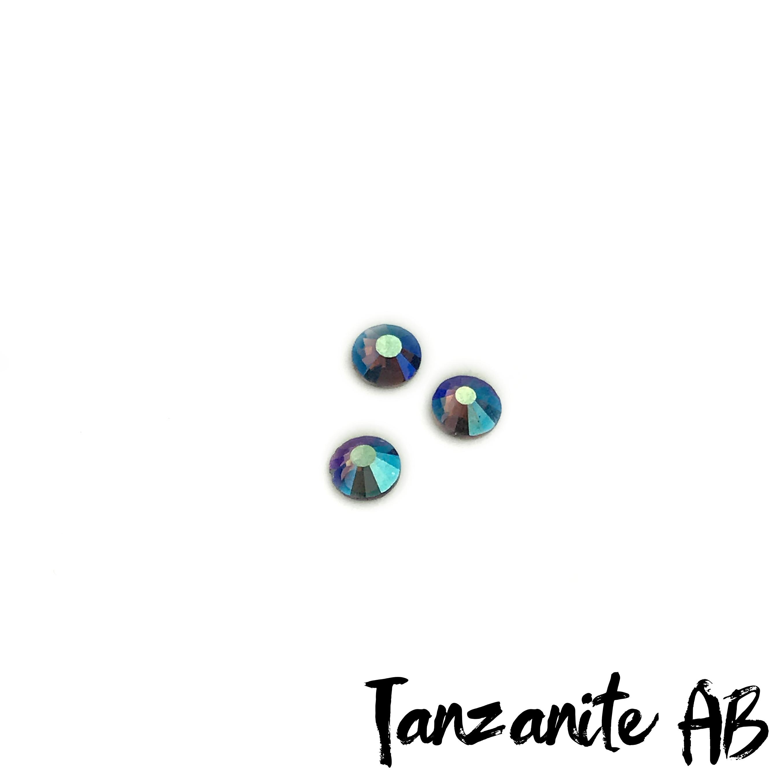 Tanzanite AB competition bikini crystal