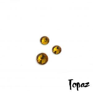 Topaz competition bikini crystal
