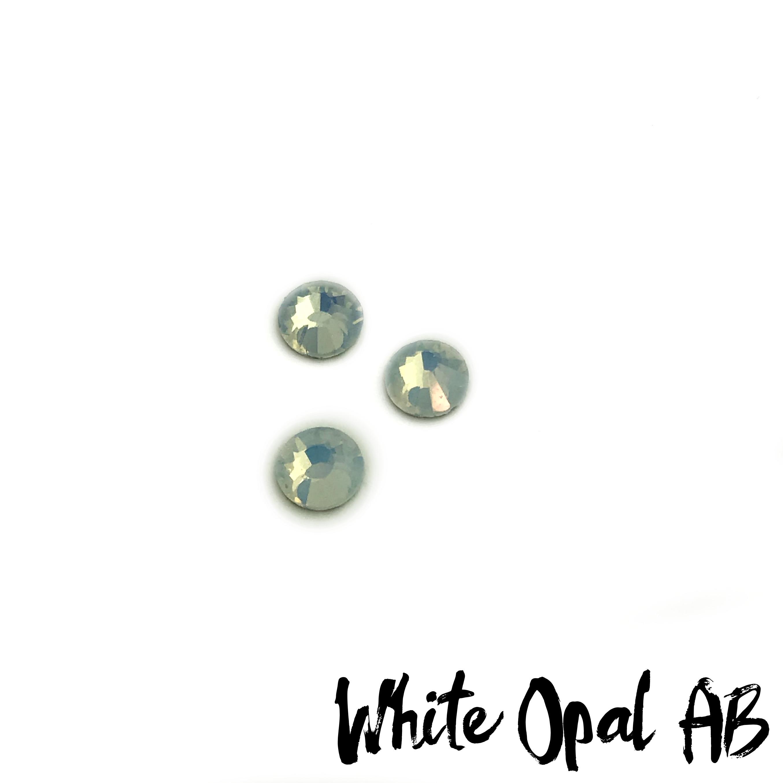 White Opal AB competition bikini crystal