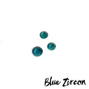 blue zircone competition bikini crystal