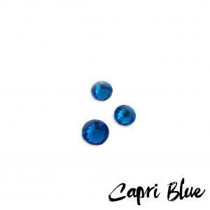 capri blue competition bikini crystal