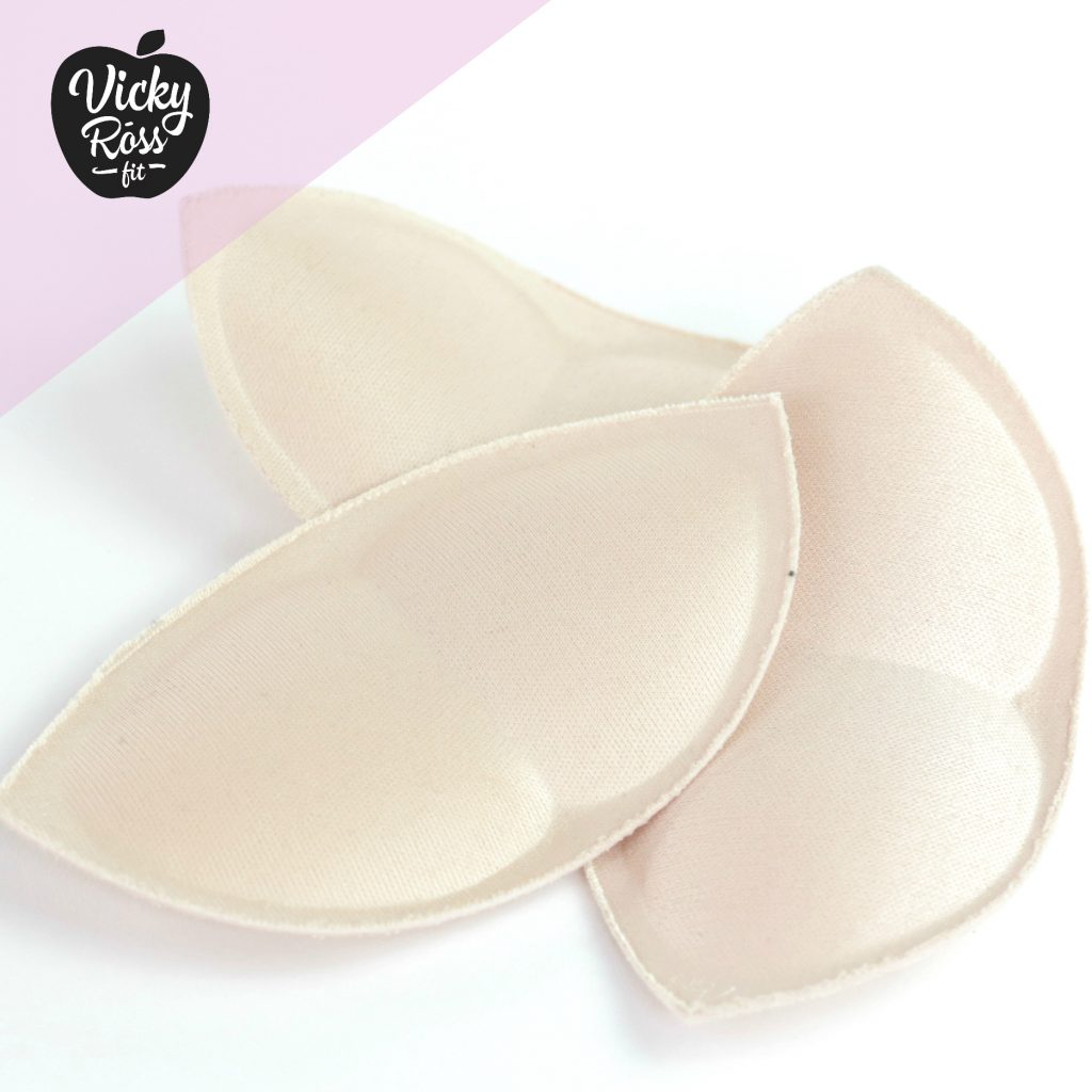 Beige Push Up Bra Pads Insert