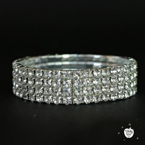 Competition Silver Crystal Bracelet
