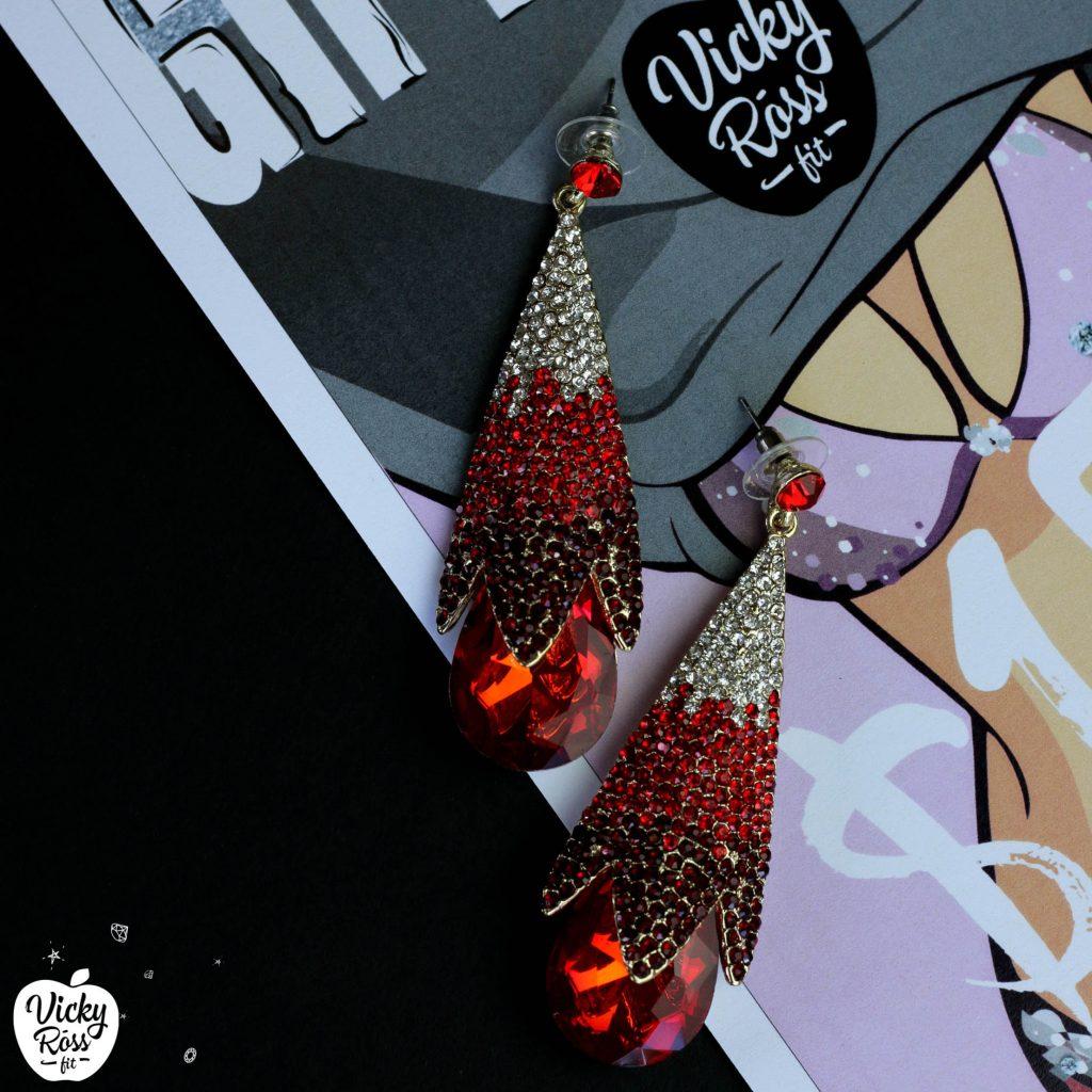 Siam Ombre Bikini Competition Earrings | Siam Diamond