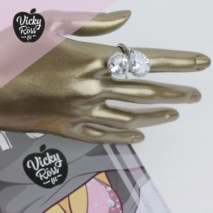 Clear Crystal High Quality Bikini Ring