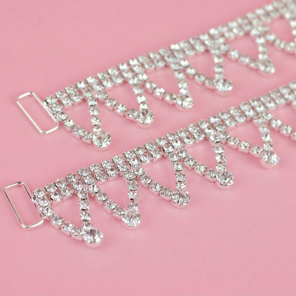 Bottom Bikini Crystal Connectors | Bikini Connectors