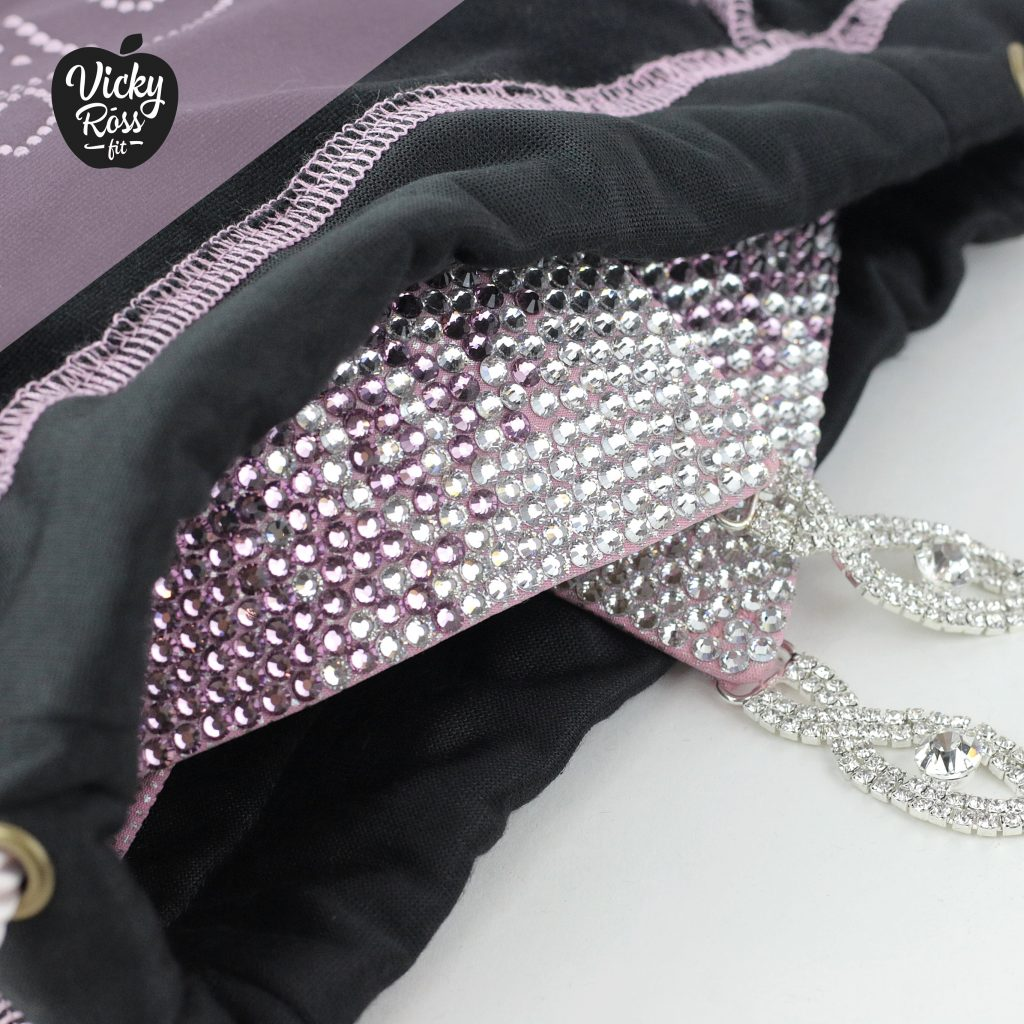 crystal competition bag by vicky ross fit