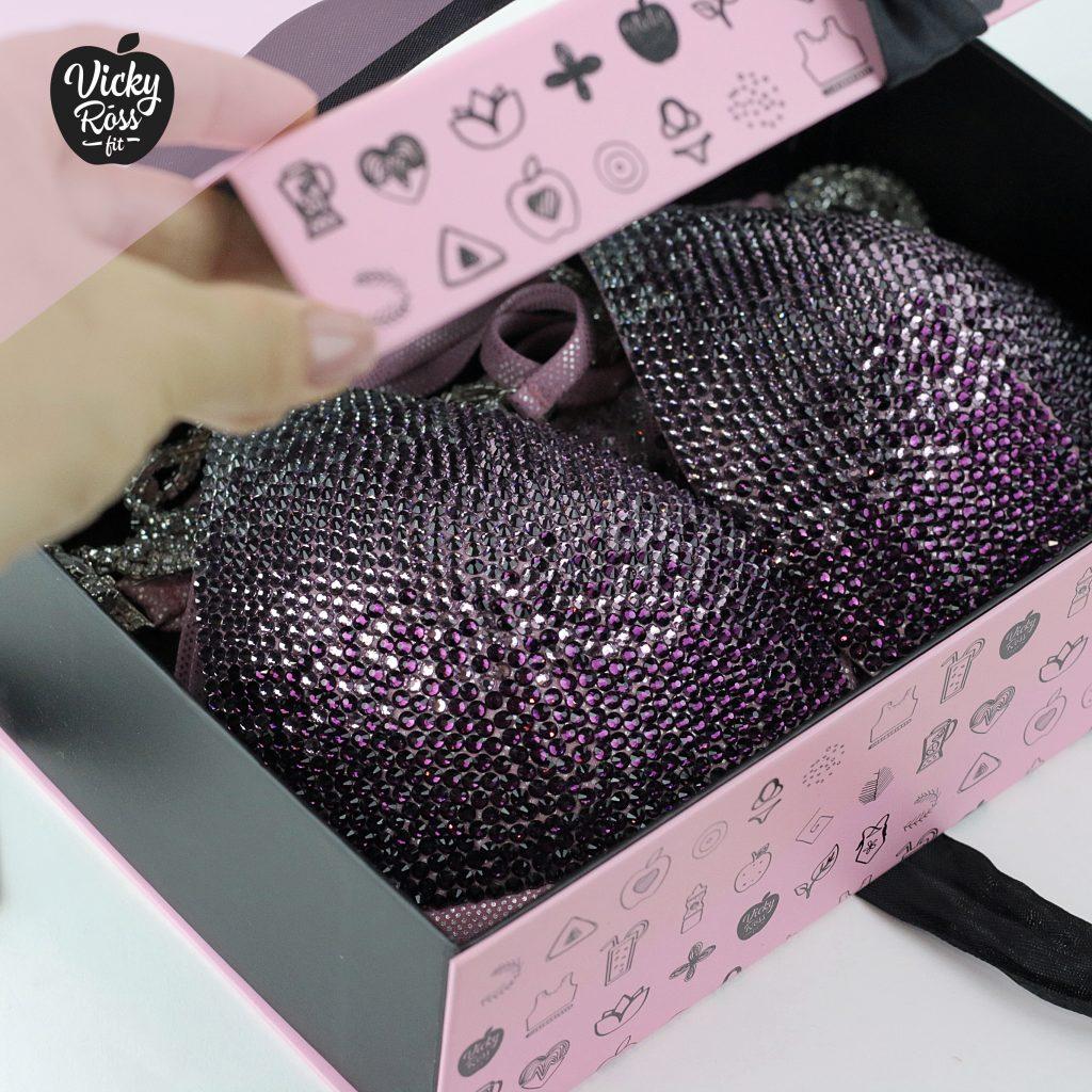 pink designer box