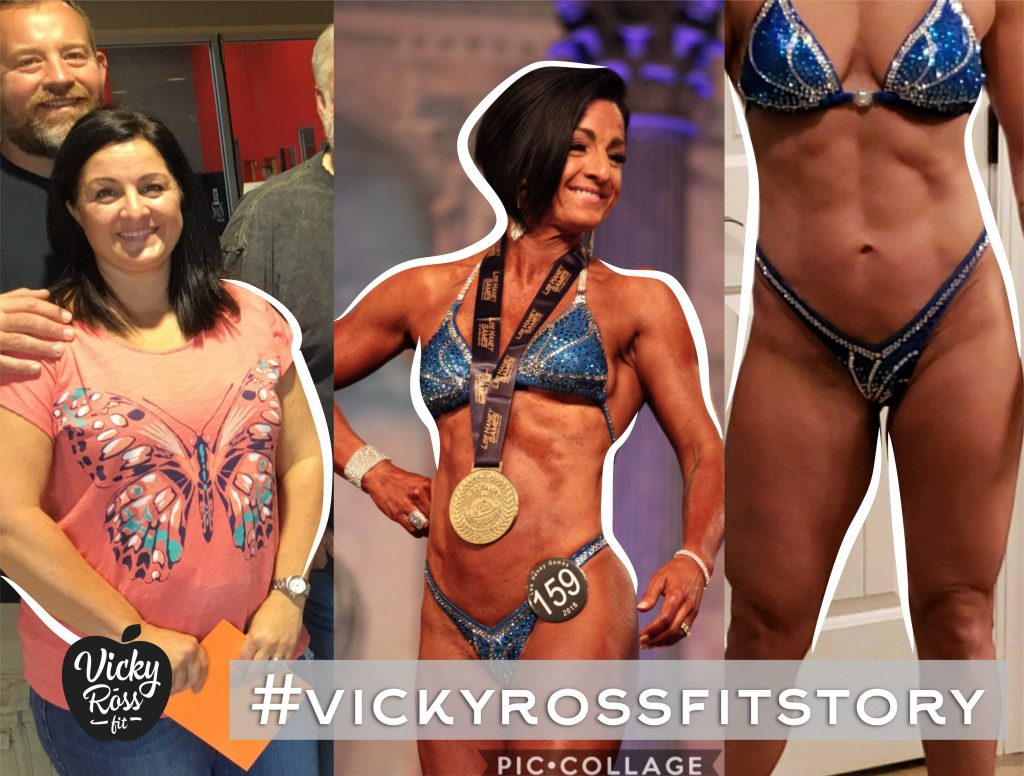 fitness motivation vicky ross fit story