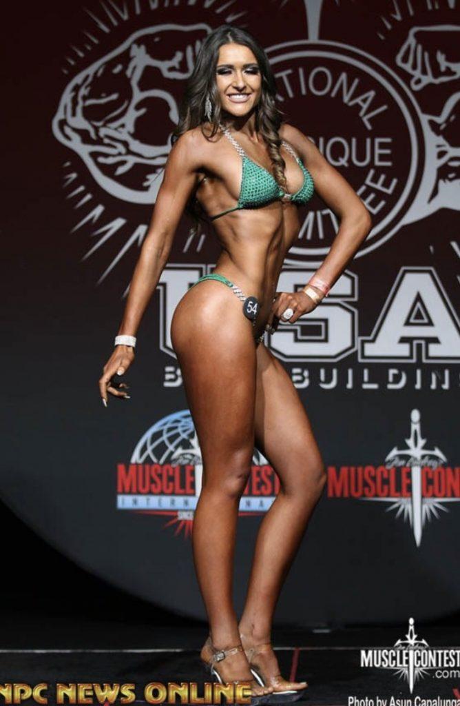 summer trenkle npc bikini competitor