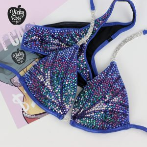Custom Figure Competition Bikini for Women Handmade by Vicky Ross Fit
