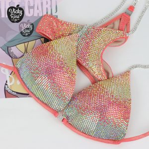 Coral Competition Bikini Suit
