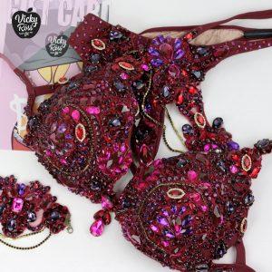 WBFF Bikin Designer Theme Wear