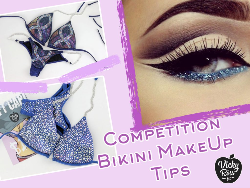 competition bikini makeup