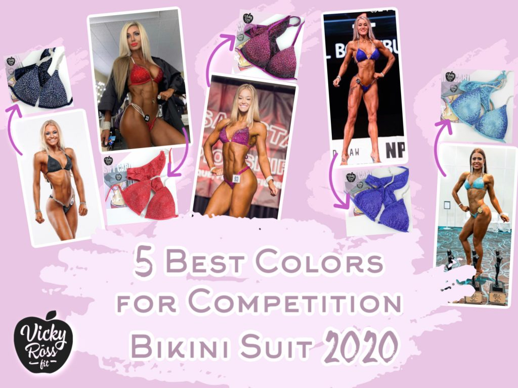 best colors for competition bikini suit 2020