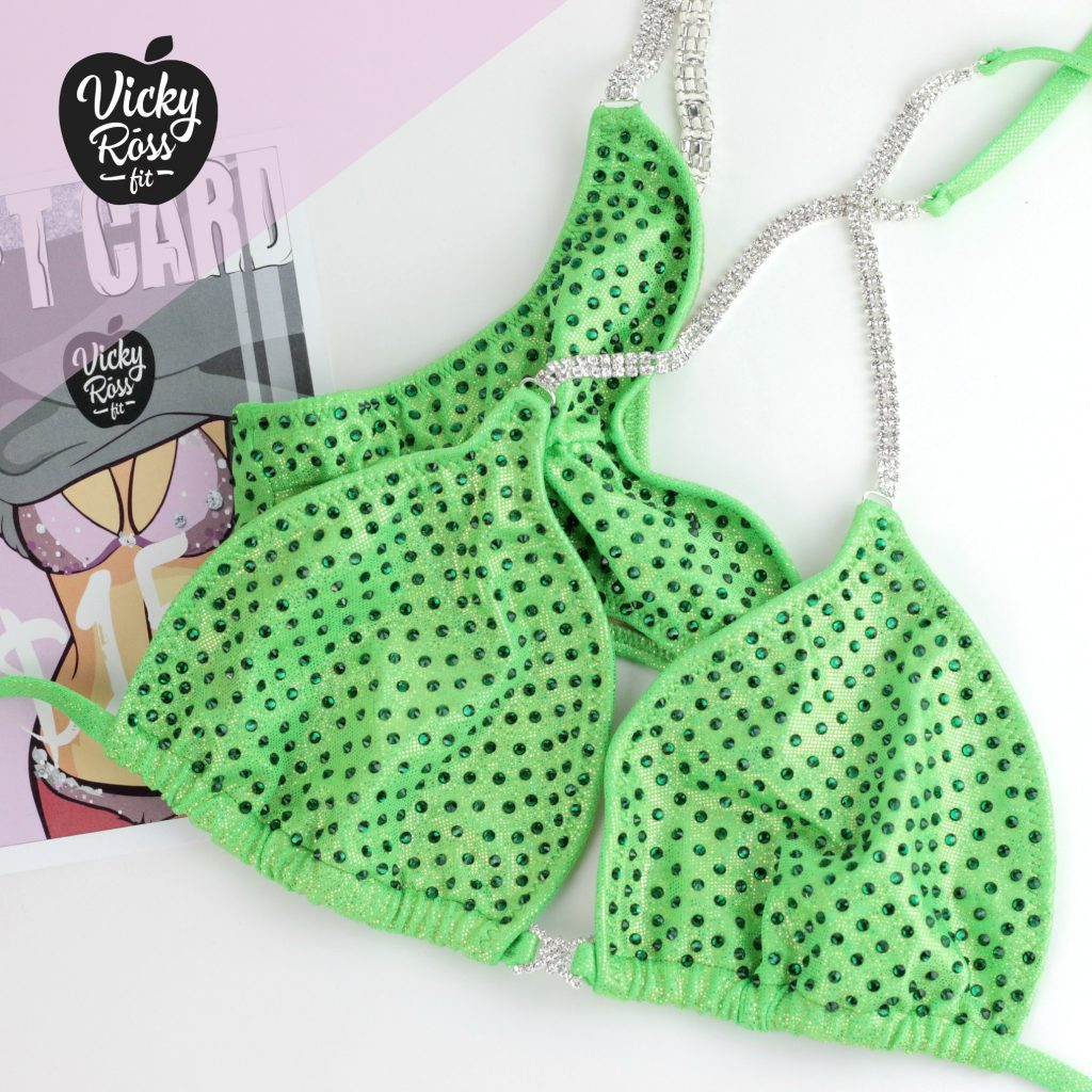 Lime Green Fitness Suit